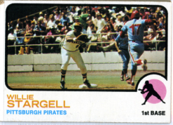 1973 Topps | Willie Stargell | Pittsburgh Pirates | Baseballisms.com