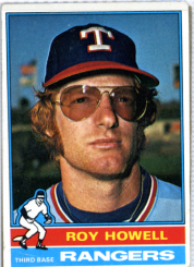 1976 Topps | Roy Howell | Texas Rangers | Baseballisms.com
