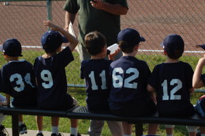 t-ball bench | Baseballisms.com