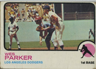 1973 Topps | Wes Parker | Los Angeles Dodgers | Baseball Card | Baseballisms.com