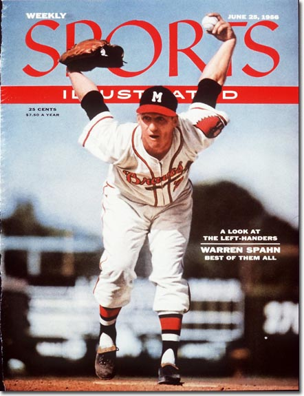 Warren Spahn | Sports Illustrated Cover | Baseballisms.com