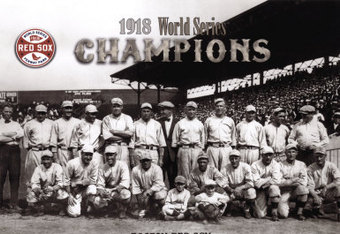 Boston Red Sox 1918 World Series Champs | Baseballisms.com