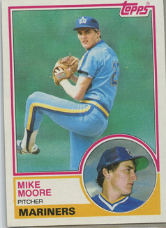 Topps 1983 Baseball Card | Mike Moore | Seattle Mariners | Baseballisms.com