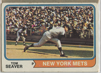 Topps 1974 Baseball Card | Tom Seaver | New York Mets | Baseballisms.com