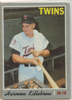 Topps 1970 Baseball Card | Harmon Killebrew | Minnesota Twins | Baseballisms.com