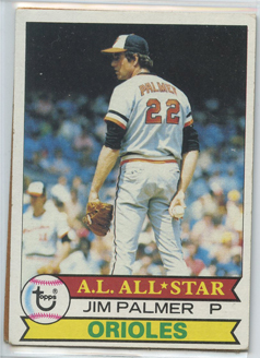 Topps 1979 Baseball Card | Jim Palmer | Baltimore Orioles | Baseballisms.com