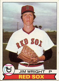 Topps 1979 Baseball Card | Jim Wright | Boston Red Sox | Baseballisms.com