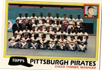 Topps 1981 Baseball Card | Pittsburgh Pirates | Baseballisms.com
