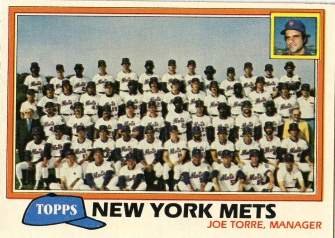 Topps 1981 Baseball Card | New York Mets | Baseballisms.com