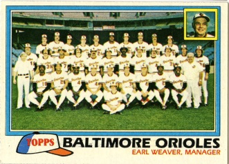 Topps 1981 Baseball Card | Baltimore Orioles | Baseballisms.com
