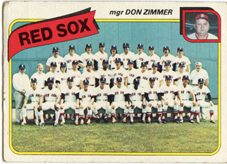 Topps 1980 Baseball Card | Boston Red Sox | Baseballisms.com