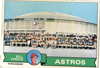 Topps 1979 Baseball Card | Houston Astros | Baseballisms.com