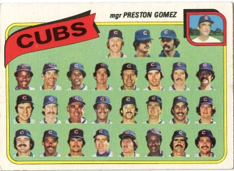 Topps 1980 Baseball Card | Chicago Cubs | Baseballisms.com