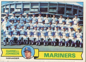 Topps 1979 Baseball Card | Seattle Mariners | Baseballisms.com