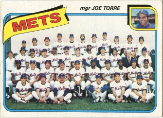 Topps 1980 Baseball Card | New York Mets |  Baseballisms.com