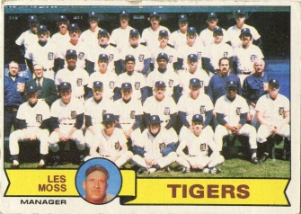 Topps 1979 Baseball Card | Detroit Tigers | Baseballisms.com